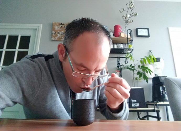 slurping your coffee