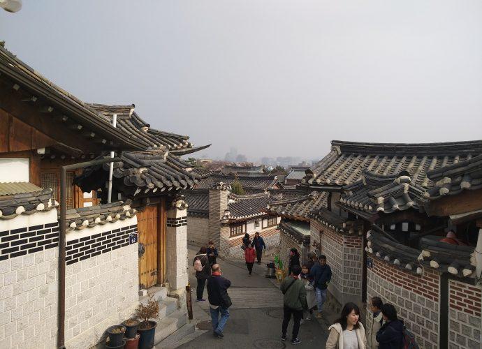 Best coffee shops in Seoul Bukchon Hanok Village