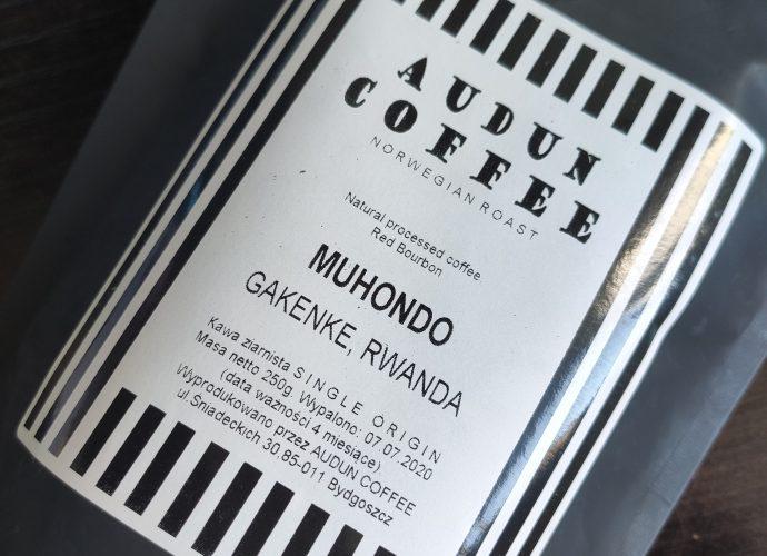 Audun Coffee Muhondo Logo